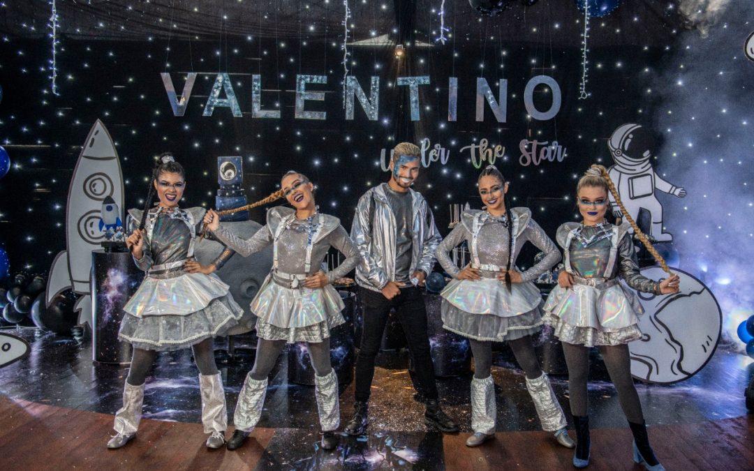 Una celebración fuera de este mundo, Marcela Reyes celebra el cumpleaños #2 de Valentino