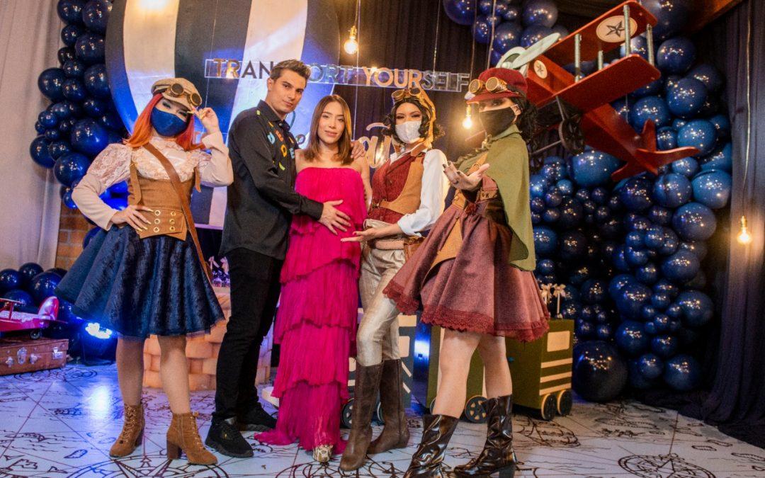 Luisa Fernanda W y Pipe Bueno celebraron el baby shower de su hijo Máximo