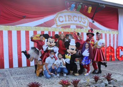 Con un gran circo, Sara Uribe y Fredy Guarín celebró los dos años de su hijo Jacobo 1