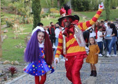 Con un gran circo, Sara Uribe y Fredy Guarín celebró los dos años de su hijo Jacobo 2