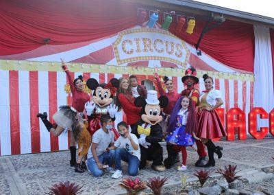Con un gran circo, Sara Uribe y Fredy Guarín celebró los dos años de su hijo Jacobo 3