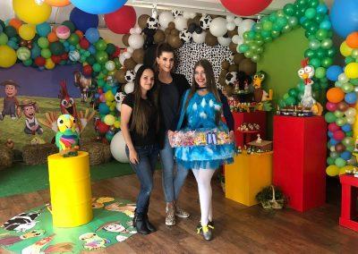 Matías, hijo de Carolina Cruz y Lincoln Palomeque, festeja su cumpleaños #2 con la granja de Zenón 1