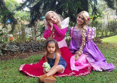 Luciana, hija de Vanessa Pelaez, la bella princesa de este mágico evento 6