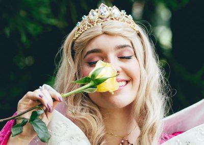 Luciana, hija de Vanessa Pelaez, la bella princesa de este mágico evento 5