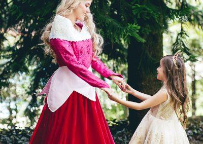 Luciana, hija de Vanessa Pelaez, la bella princesa de este mágico evento 4