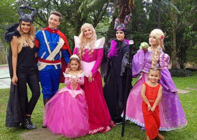 Luciana, hija de Vanessa Pelaez, la bella princesa de este mágico evento 2