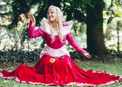Luciana, hija de Vanessa Pelaez, la bella princesa de este mágico evento 1