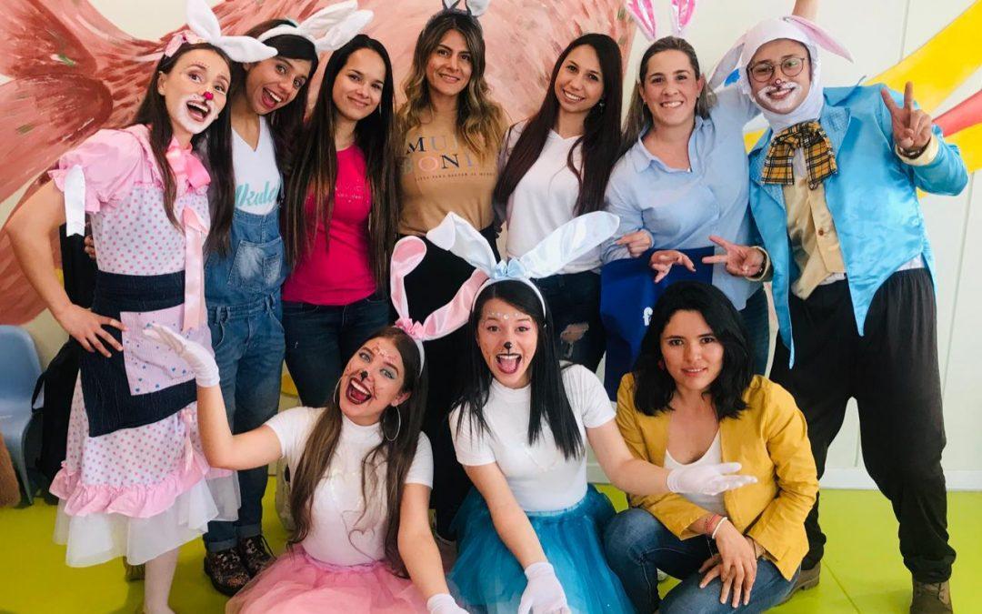 Marcela Vargas y la Fundación Cardioinfantil hacen realidad sueños celebrando el Día de Pascua